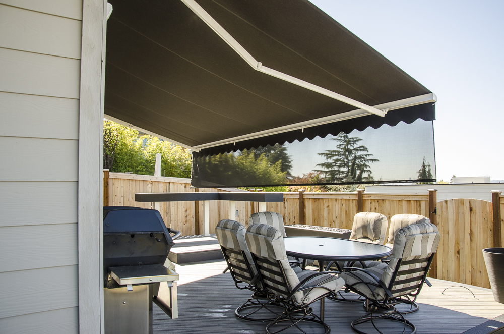Rainier Retractable Awnings Alumawood